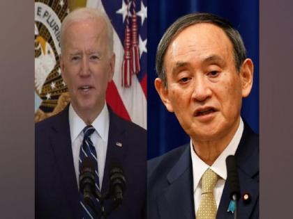 Biden, Suga discuss China's aggression; reiterate calls for free and open Indo-Pacific | Biden, Suga discuss China's aggression; reiterate calls for free and open Indo-Pacific