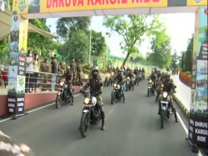Army organises motorcycle rally to commemorate Kargil Vijay Diwas   Army organises motorcycle rally to commemorate Kargil Vijay Diwas