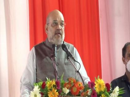 Amit Shah lauds Yogi for UP's law and order, improved economic situation | Amit Shah lauds Yogi for UP's law and order, improved economic situation