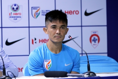 Indian football team should fight like bees do: Captain Chhetri | Indian football team should fight like bees do: Captain Chhetri