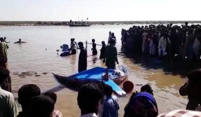 4 killed, 17 missing after 3 boats sink in reservoir in Pak   4 killed, 17 missing after 3 boats sink in reservoir in Pak