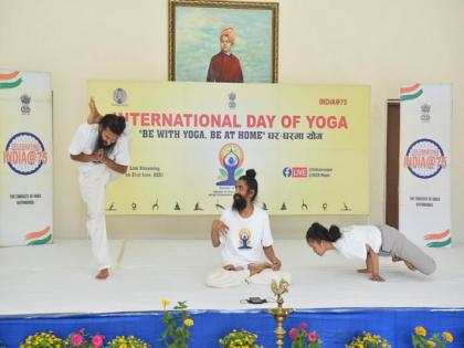 Indian Mission in Nepal marks Yoga Day virtually | Indian Mission in Nepal marks Yoga Day virtually