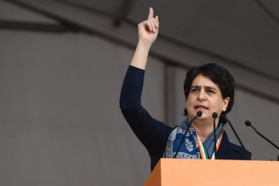 'Coincidence or experiment'? Priyanka questions rising unemployment rate   'Coincidence or experiment'? Priyanka questions rising unemployment rate