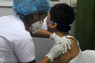 49% vax target achieved in Lucknow in 3rd round | 49% vax target achieved in Lucknow in 3rd round