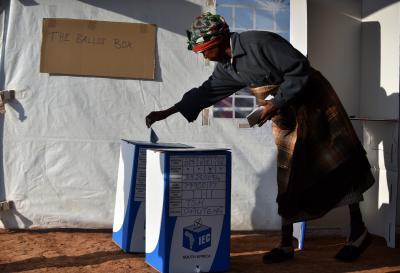 S.Africa mulls postponing local govt polls | S.Africa mulls postponing local govt polls