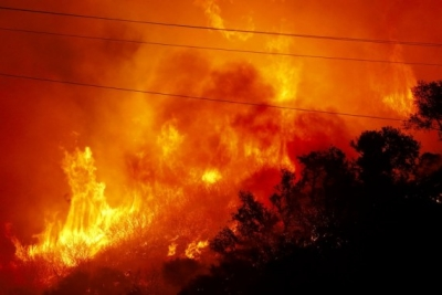 California's Alisal Fire grows, prompts evacuations | California's Alisal Fire grows, prompts evacuations