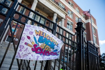 NYC schools reopen for in-person classes   NYC schools reopen for in-person classes