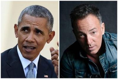 Barack Obama, Bruce Springsteen to share 'American stories' in new book | Barack Obama, Bruce Springsteen to share 'American stories' in new book
