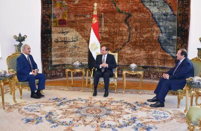 Egypt hosts UN-brokered Libyan peace talks   Egypt hosts UN-brokered Libyan peace talks