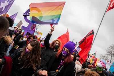 Turkish protesters slam scrapping of treaty on women's rights | Turkish protesters slam scrapping of treaty on women's rights