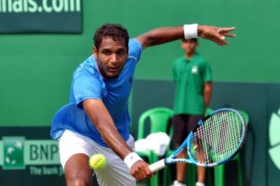 Ramkumar Ramanathan knocked out of Singapore Open in 1st round | Ramkumar Ramanathan knocked out of Singapore Open in 1st round