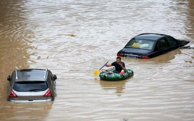 Thousands evacuated as floods hit China | Thousands evacuated as floods hit China