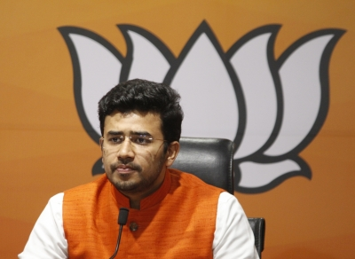 Oppn engaged in 'shoot and scoot' to disrupt Parliament: Tejasvi Surya | Oppn engaged in 'shoot and scoot' to disrupt Parliament: Tejasvi Surya