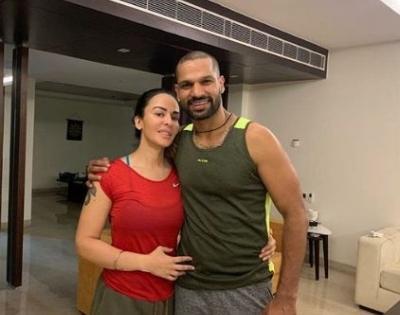 Shikhar Dhawan separates with wife Aesha | Shikhar Dhawan separates with wife Aesha
