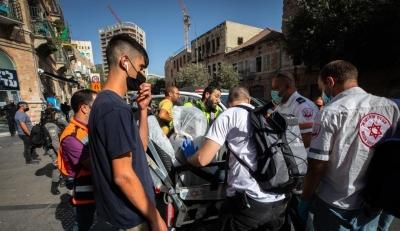 Knife-wielding Palestinian teen injures 2 Israelis   Knife-wielding Palestinian teen injures 2 Israelis