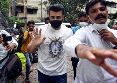 Porn case: Raj Kundra sent to judicial custody till Aug 10   Porn case: Raj Kundra sent to judicial custody till Aug 10