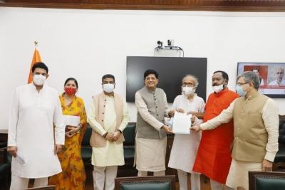 BJP MPs from Odisha meet Piyush Goyal over PMGKAY 'irregularity' | BJP MPs from Odisha meet Piyush Goyal over PMGKAY 'irregularity'