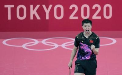 China's Ma wins unprecedented back-to-back Olympic singles titles   China's Ma wins unprecedented back-to-back Olympic singles titles