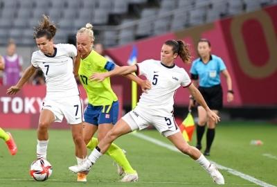 Olympics: USA stunned as women's football tournament gets underway | Olympics: USA stunned as women's football tournament gets underway