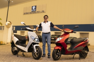 EVTRIC Motors launches 2 slow-speed electric scooters in India | EVTRIC Motors launches 2 slow-speed electric scooters in India