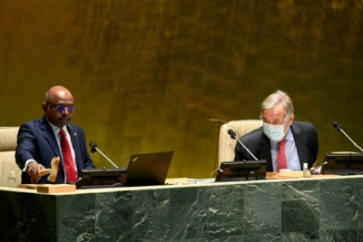 UNGA Prez to hold high-level event on universal vaccination in 2022 | UNGA Prez to hold high-level event on universal vaccination in 2022