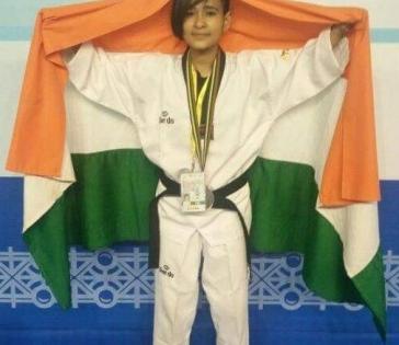 India's first taekwondo athlete enters Paralympics   India's first taekwondo athlete enters Paralympics