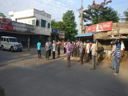 COVID-19: Curfew imposed in Andhra's West Godavari district today   COVID-19: Curfew imposed in Andhra's West Godavari district today