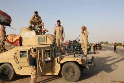 4 Iraqi soldiers killed in IS attack   4 Iraqi soldiers killed in IS attack