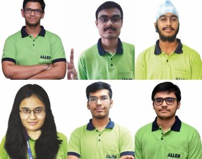 Six students from Rajasthan top JEE man exams   Six students from Rajasthan top JEE man exams
