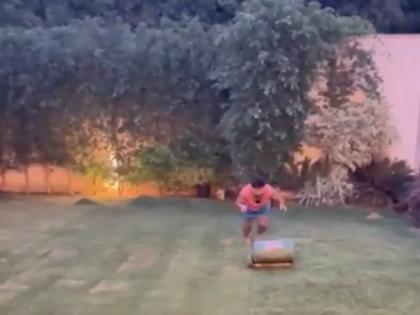 COVID-19: Pant turns to mowing to stay active while indoors | COVID-19: Pant turns to mowing to stay active while indoors