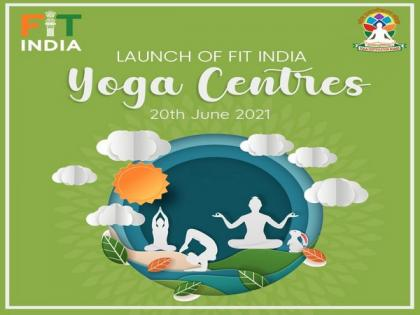 Rijiju announces launch of 25 Fit India Yoga centers across 9 states on eve of International Yoga Day | Rijiju announces launch of 25 Fit India Yoga centers across 9 states on eve of International Yoga Day
