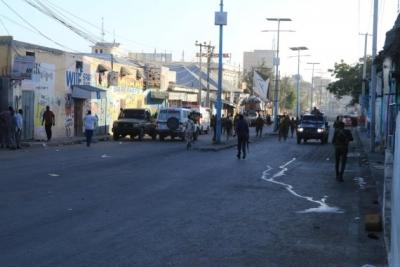 7 killed in Mogadishu suicide bombing | 7 killed in Mogadishu suicide bombing