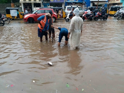 16 Telangana districts see flooding due to heavy rains   16 Telangana districts see flooding due to heavy rains