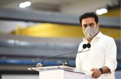 KTR challenges BJP leader over Central funds to Telangana | KTR challenges BJP leader over Central funds to Telangana