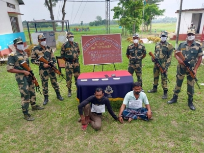 BSF busts racket smuggling fake Indian currency from B'desh | BSF busts racket smuggling fake Indian currency from B'desh