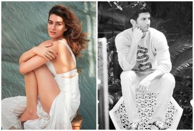 Kriti remembers Sushant on 4 years of 'Raabta' | Kriti remembers Sushant on 4 years of 'Raabta'