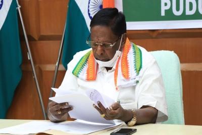 Puducherry CM asked to prove majority on Feb 22   Puducherry CM asked to prove majority on Feb 22