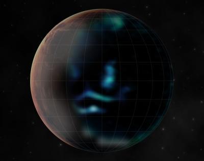 UAE's Hope spacecraft snaps Mars' glowing auroras   UAE's Hope spacecraft snaps Mars' glowing auroras