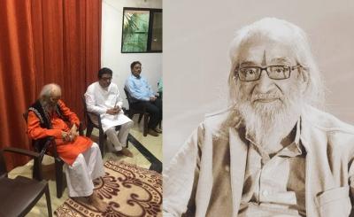 Maha celebrates as eminent author Babasaheb Purandare turns 100   Maha celebrates as eminent author Babasaheb Purandare turns 100