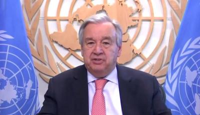 Guterres asks India to end reliance on costly fossil fuels | Guterres asks India to end reliance on costly fossil fuels