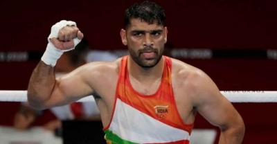 Olympics: Satish bows out in quarterfinals as India's challenge in men's boxing ends | Olympics: Satish bows out in quarterfinals as India's challenge in men's boxing ends