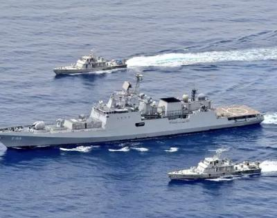 Indian Navy holds exercises in the Red Sea, not far from the Suez Canal   Indian Navy holds exercises in the Red Sea, not far from the Suez Canal