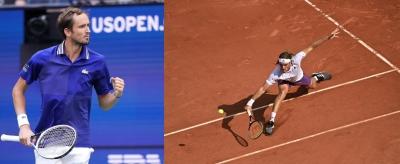 Medvedev, Tsitsipas qualify for ATP Finals in November   Medvedev, Tsitsipas qualify for ATP Finals in November
