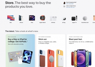 Apple rejigs its online store before mega launches | Apple rejigs its online store before mega launches