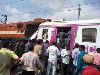 Hyderabad train crash: Loco pilot rescued from mangled cabin (2nd Lead) | Hyderabad train crash: Loco pilot rescued from mangled cabin (2nd Lead)