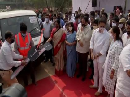GHMC flags off 300 Swacch Auto Tipper Vehicles | GHMC flags off 300 Swacch Auto Tipper Vehicles