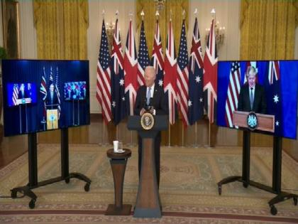 US, UK, Australia announce trilateral security partnership AUKUS | US, UK, Australia announce trilateral security partnership AUKUS