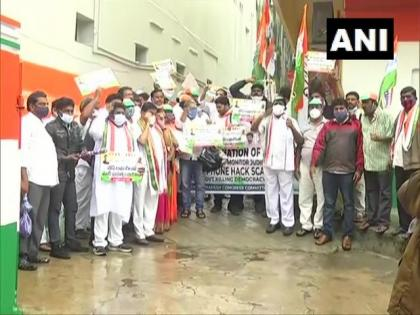 Andhra Congress president, others detained in Vijayawada | Andhra Congress president, others detained in Vijayawada