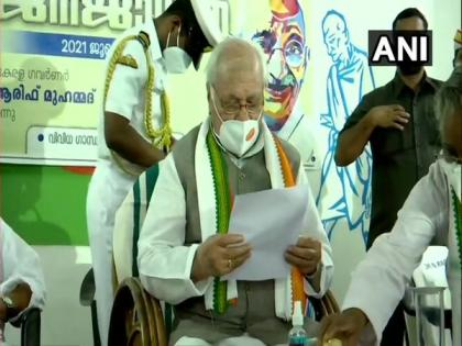 Kerala Governor observes fast against dowry, attends prayer meet | Kerala Governor observes fast against dowry, attends prayer meet