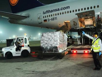 Vital medical supplies for COVID-19 from UK arrive in India   Vital medical supplies for COVID-19 from UK arrive in India